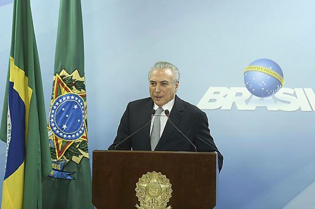 """""""Não renunciarei"""", afirma Temer em pronunciamento Valter Campanato/Agencia Brasil"""