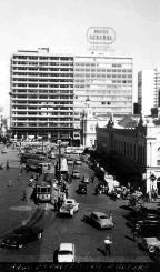 Leitor do Almanaque relembra como era o Largo Glênio Peres na década de 1950 Não se aplica/Arquivo Pessoal