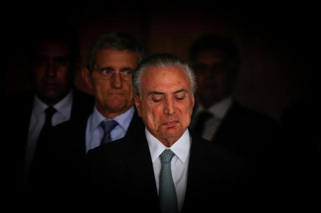 """Delator relata entrega de R$ 1 milhão para """"coronel"""", amigo de Michel Temer SÉRGIO LIMA/PODER 360"""