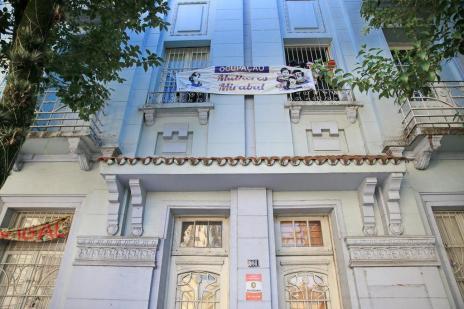 Justiça determina reintegração de posse de prédio que abriga a Ocupação Mirabal (Bruno Alencastro/Agencia RBS)