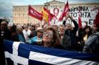 Parlamento grego aprova novas medidas de austeridade LOUISA GOULIAMAKI/AFP