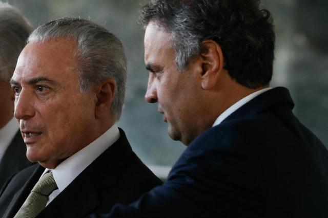 Temer e Aécio articularam para impedir avanço da Lava-Jato, diz Janot em inquérito Beto Barata/Presidência da República/Divulgação