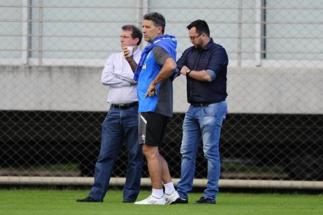 Com três competições paralelas, Grêmio prepara rodízio Félix Zucco a/Agencia RBS