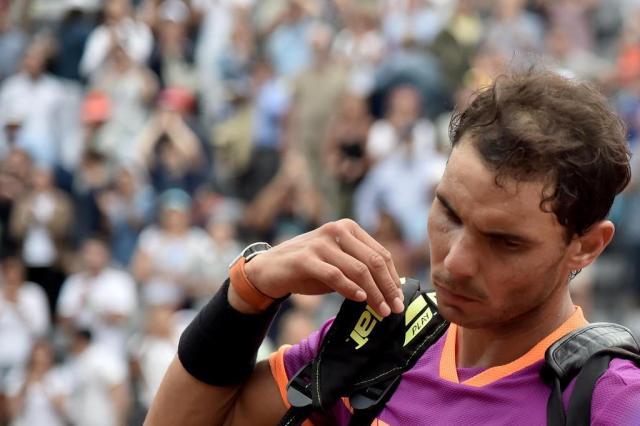 """Após derrota, Nadal reconhece: """"Thiem fez uma partida espetacular"""" TIZIANA FABI/AFP"""