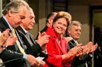 Dilma comemora: Ganhamos! Me liga! Roberto Stuckert Filho/Presidência da República/Divulgação