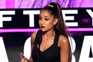 Ariana Grande promete show beneficente em Manchester KEVIN WINTER/GETTY IMAGES NORTH AMERICA