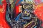 Com obra vendida por R$ 360 milhões, Jean-Michel Basquiat tem quadro exposto em Porto Alegre Galeria Duque/Divulgação