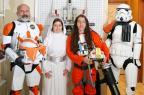 Marco da cultura pop, Star Wars chega aos 40 anos passando de geração para geração André Feltes/Especial
