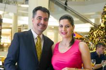 Cirurgião plástico Denis Valente recebe convidados para comemorar defesa de tese de doutorado Andréa Graiz/Agencia RBS