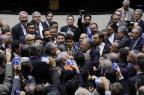 Parlamentares discutem fim do governo Temer em meio a socos e empurrões no plenário da Câmara Luis Macedo/Câmara dos Deputados,Divulgação
