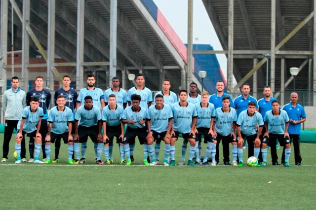Sub-16 do Grêmio vence San Lorenzo em amistoso na Argentina Rodrigo Fatturi / Divulgação Grêmio/Divulgação Grêmio