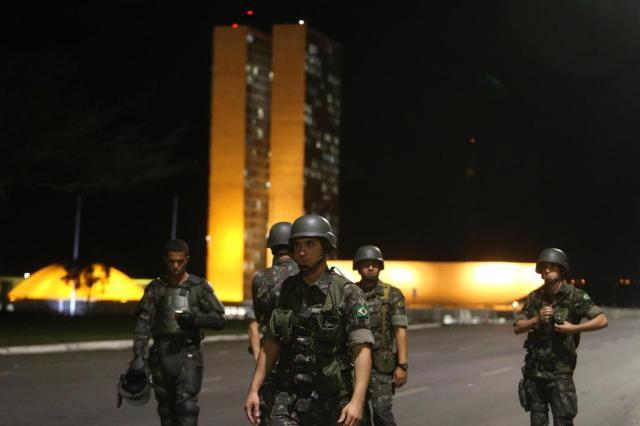 Temer reúne ministros para avaliar se revoga decreto que convocou Forças Armadas NILTON FUKUDA/ESTADÃO CONTEÚDO