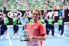 Campeão júnior do Australian Open confessa ter combinado resultado Reprodução / Twitter Australian Open/Twitter Australian Open