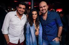 Em Porto Alegre para gravação de filme, Cleo Pires se diverte em bares e festas Maiquel Borges/Divulgação