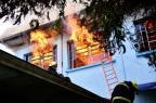 Moradores de asilo destruído pelo fogo em Vacaria irão para albergue desativado Artur Alexandre/Divulgação
