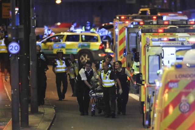 Estado Islâmico reivindica atentado de sábado em Londres DANIEL SORABJI/AFP