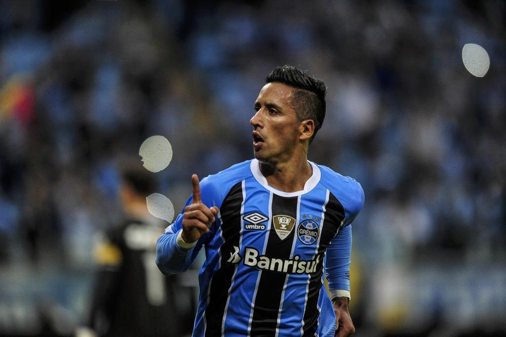 Com gols de Barrios e Luan, Grêmio vence o Vasco na Arena (Félix Zucco/Agencia RBS)