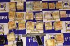 Homem é preso com R$ 40 mil na Zona Sul de Porto Alegre Brigada Militar / Divulgação/Divulgação