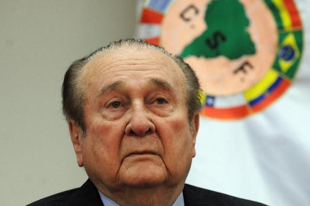 Resultado de imagem para Ex-presidentes da Conmebol denunciados por lavagem de dinheiro