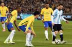 Sem Neymar, Brasil perde para a Argentina em amistoso na Austrália Saeed Khan/AFP