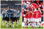 Qual a posição real de Grêmio e Inter no ranking de público nos estádios Montagem sobre fotos / Félix Zucco e Bruno Alencastro / Agência RBS/Félix Zucco e Bruno Alencastro / Agência RBS