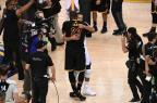 Stephen Curry e LeBron James lideram vendas de camisa na NBA Garrett Ellwood/AFP