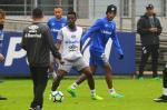 Grêmio faz último treino antes de viajar para o Rio