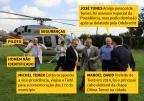 Quem é quem na foto do voo em helicóptero de empresa privada de Michel Temer a Tietê /