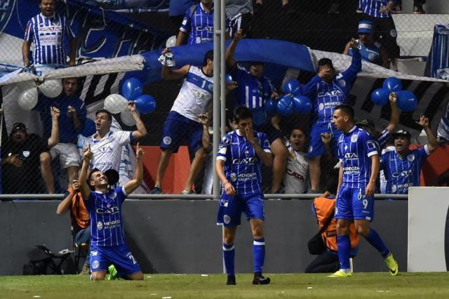 Veja curiosidades e números sobre o Godoy Cruz, adversário do Grêmio nas oitavas da Libertadores NORBERTO DUARTE/AFP