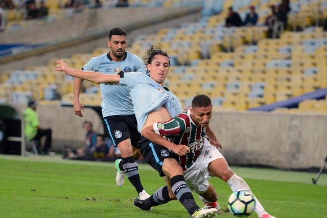 Grêmio já tem campanha para pensar em título DELMIRO JUNIOR/ESTADÃO CONTEÚDO