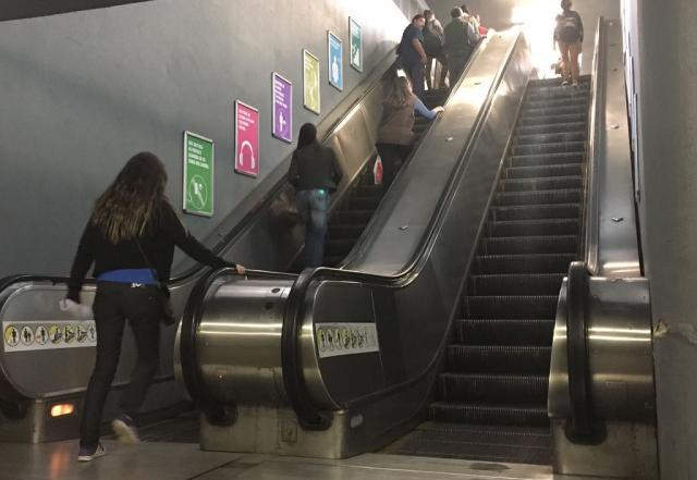 Trensurb dá novo prazo para empresas corrigirem propostas de consertos de escadas rolantes Francine Silva/Agencia RBS