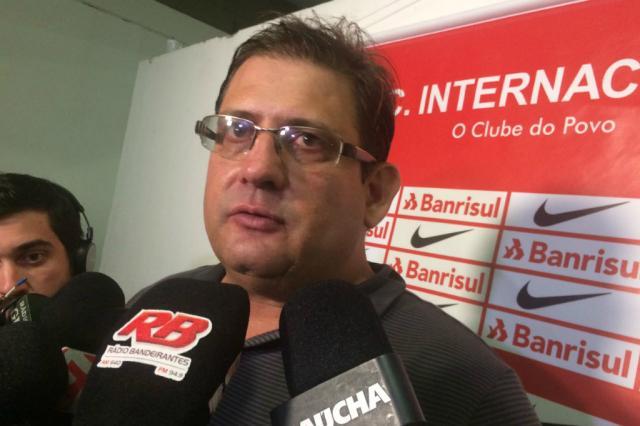"""Guto Ferreira justifica opção por Cirino no ataque do Inter: """"Competitividade"""" Leonardo Acosta/Agência RBS/"""