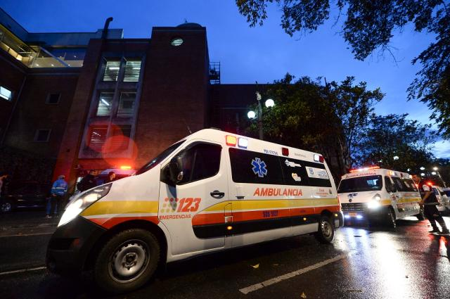 Atentado deixa ao menos três mortos e 11 feridos em shopping de Bogotá RAUL ARBOLEDA / AFP/AFP