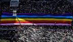 Parada do Orgulho LGBT lota Avenida Paulista Miguel Schincariol / AFP/AFP