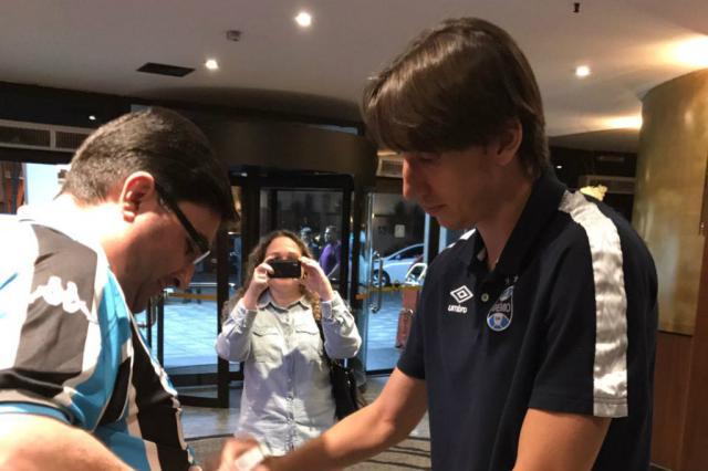 Com Maicon como dúvida, Grêmio chega a Belo Horizonte para jogo que vale a liderança do Brasileirão Grêmio / Divulgação/Divulgação