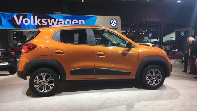 Renault Kwid chegará em agosto para ser o carro de menor preço no país Priscila Nunes/Especial/