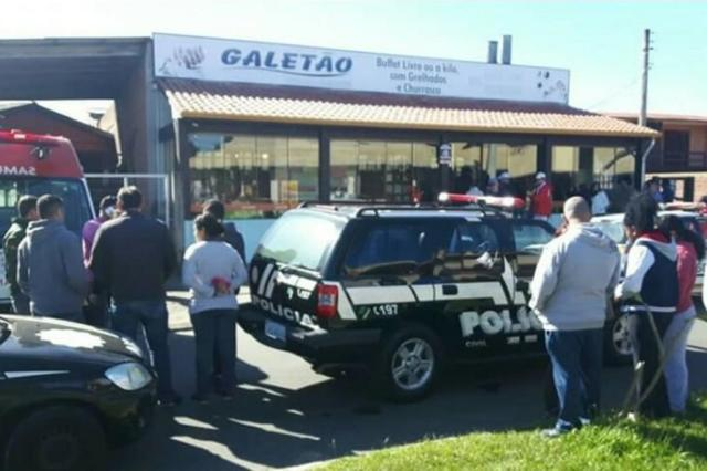 Dono de restaurante executado em Imbé foi morto por engano Divulgação/Litoral na Rede