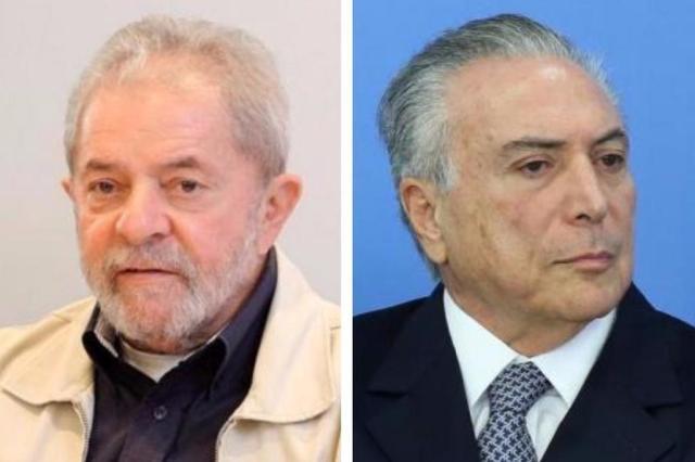"""Lula teria encontrado Temer para discutir impeachment um dia após """"reunião"""" de Cunha Montagem/Instituto Lula e Agência PT"""