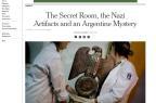 Polícia encontra tesouro nazista nos arredores de Buenos Aires Reprodução/Reprodução