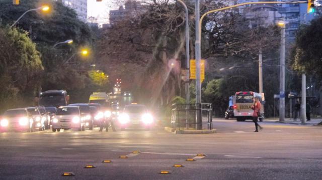 Chegada a Porto Alegre tem trânsito intenso nesta quinta-feira Felipe Daroit / Agência RBS/Agência RBS