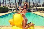 Fora das telas no Brasil, Thaila Ayala faz sucesso ao participar de vídeos de youtubers americanos reprodução/instagram