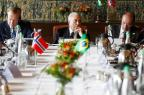 """""""O Brasil está deixando para trás uma severa crise"""", diz Temer após derrotas no Congresso  Beto Barata/Presidência da República/Divulgação"""