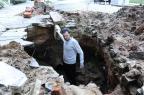 VÍDEO: buraco bloqueia garagem de prédio na Bela Vista desde maio Ronaldo Bernardi/Agencia RBS