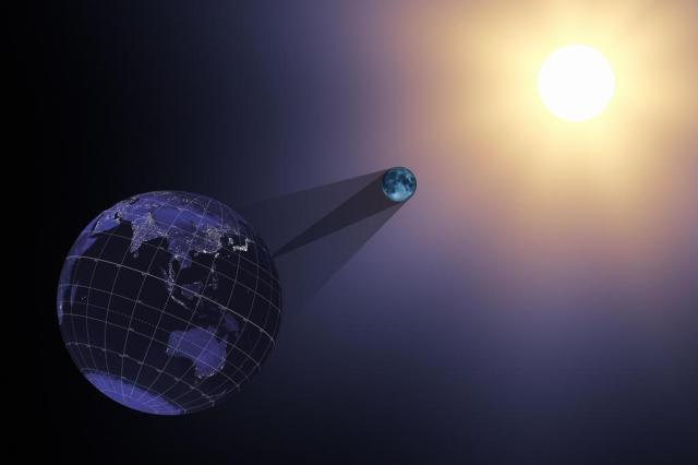 Eclipse solar dará início ao fim do mundo, segundo o numerólogo britânico David Meade Handout / NASA/AFP PHOTO