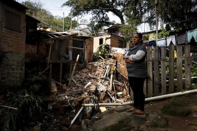 Após morte na Rua da Represa, comunidade às margens de arroio sofre com medo de nova tragédia Mateus Bruxel/Agencia RBS