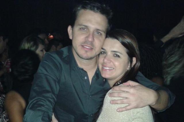 Tiro dado por criminoso pôs fim à história de amor entre os policiais Rodrigo e Raquel, em Gravataí Reprodução/Reprodução
