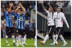 O que mudou em Grêmio e Corinthians desde o jogo no primeiro turno André ¿?vila e Daniel Augusto Jr / Agênica RBS e Agênica Corinthians/Agênica RBS e Agênica Corinthians