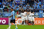 Luan erra pênalti, e Grêmio perde para o Corinthians na Arena Mateus Bruxel/Agencia RBS