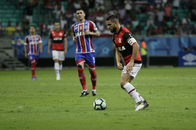 Flamengo vence o Bahia e chega a cinco jogos de invencibilidade Staff Images / Flamengo/Divulgação/Flamengo/Divulgação