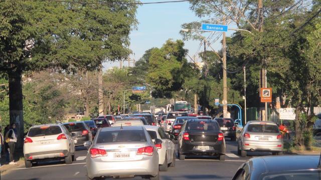Acesso ao centro de Porto Alegre é de trânsito lento nesta segunda-feira Felipe Daroit / Agência RBS/Agência RBS